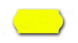Preisetiketten, 26x12mm, gelb