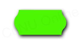 Preisetiketten, 26x12mm, grün