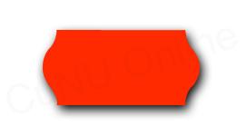 Preisetiketten, 26x12mm, rot
