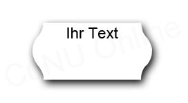 Preisetiketten mit Wunschtext