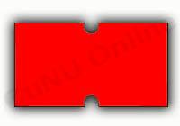 Etiketten für Irex-Preisauszeichner, rot